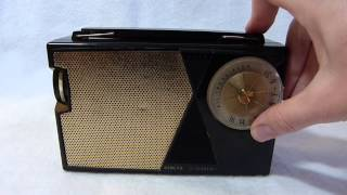1959 General Electric P807A American made transistor radio