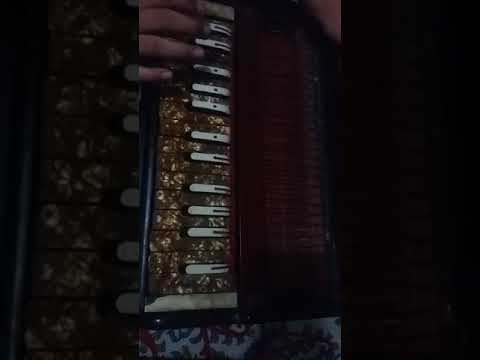 Play  harmonium  basic like  saregama  with  aarti  om hai ambe