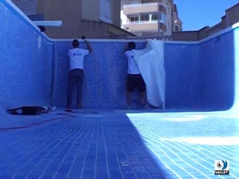 C mo impermeabilizar una piscina con l mina armada de pvc for Tela impermeable para piscinas