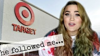 CREEPY STALKER GUY AT TARGET | Story Time