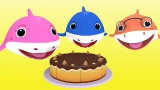 BABY SHARK FAMILY + More Baby Shark Songs Nursery Rhymes | Shark Cartoons for Children