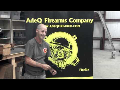 Test Firing of a ASI - MAX-UZI - Blank Firing Machine Gun in the AdeQ Firearms C