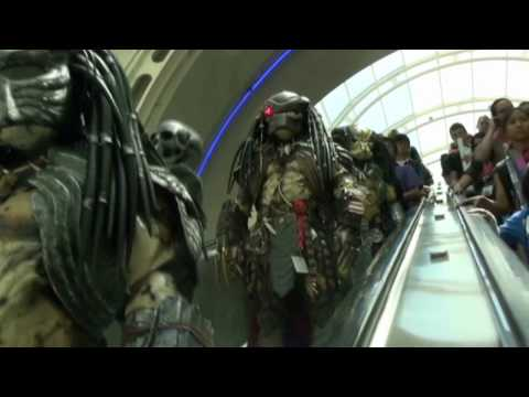 Predator Fun at San Diego Comic Con 2009