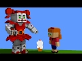 BABY MINIGAME in MINECRAFT || FNaF Sister Location