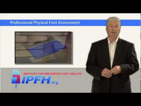 Professional Physical Foot Assessment