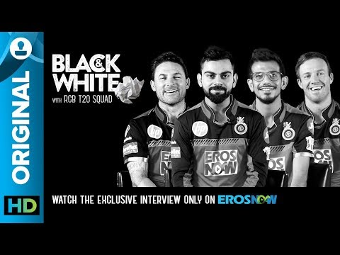 Black And White Interview With RCB T20 Squad