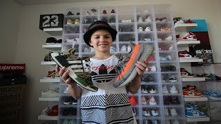 13 YEAR OLD'S $100,000 SNEAKER COLLECTION *INSANE*
