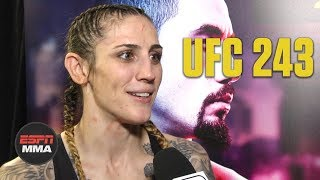 Megan Anderson excited after UFC 243 win | ESPN MMA