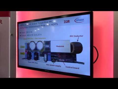 IR+Infineon explain their latest GaN-based power converter at APEC 2015