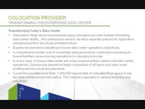 Colocation Provider: Transforming the Enterprise Data Center