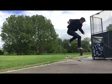 Laser Double Underflip? - Ellis Frost