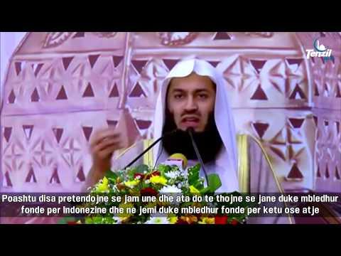 KUJDES!! Mashtrimi i rremë i Palestinës - Mufti Ismail Menk - Komike