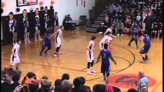 High School Boys Basketball Sandwich, IL vs Plano, IL 2015