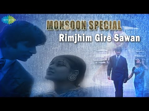 Rimjhim Gire Sawan | Bollywood Movie Song | Monsoon Special | Amitabh Bachchan, Moushumi Chatterjee video