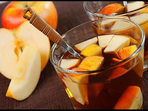 Как приготовить яблочный чай. | How to cook apple tea.