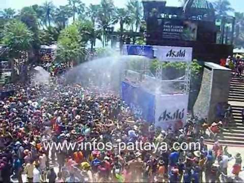 Pattaya 2013 songkran festival
