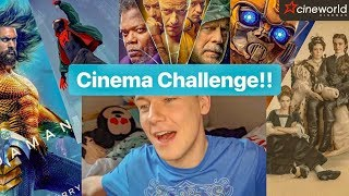 Movie Challenge! | Aquaman, Into the Spider Verse, Favourite, Glass & Bumblebee
