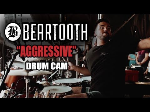 Connor Denis | Beartooth | Aggressive | Drum Cam (LIVE) thumbnail