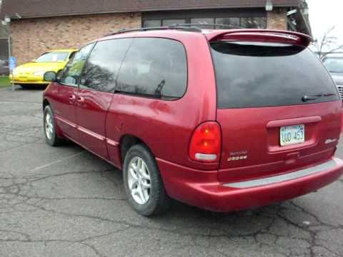 2000 Dodge Grand Caravan Sport 1 Owner Fresh Trade