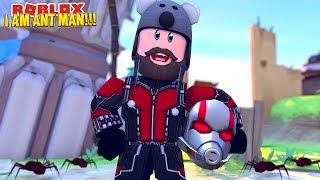 ANT MAN ADMIN COMMANDS!!   ROBLOX SUPERHERO TYCOON