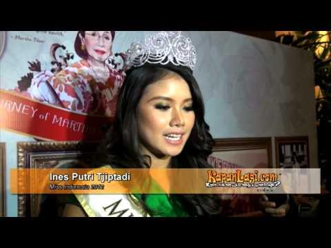 Ines Putri Tjiptadi Ines Putri Masuk 15 Besar Miss