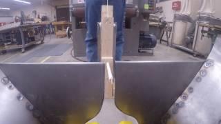 6424 FIRST Steamworks Gear Handler Prototype FPV