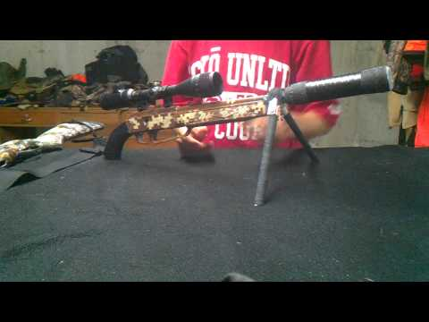 Custom BB gun with Homemade Suppressor