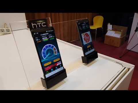 HTC U12 aka HTC Imagine shown off at a tech event