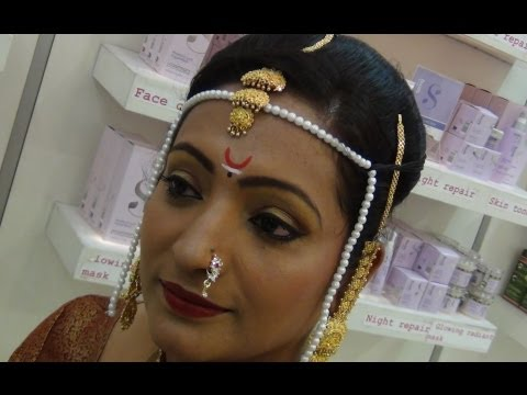 Marathi Bridal Makeup Tutorial video