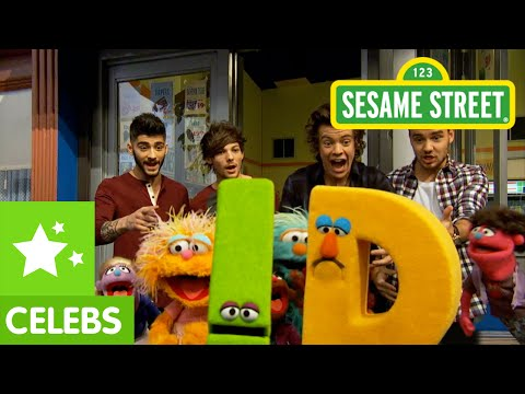 Sesame Street: 1D Visits Sesame Street (One Direction Too!)