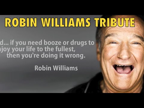 ROBIN WILLIAMS TRIBUTE VIDEO (Robin Williams Dies at Age 63 from suicide)
