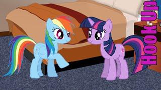 Cartoon Hook-Ups: Rainbow Dash and Twilight Sparkle