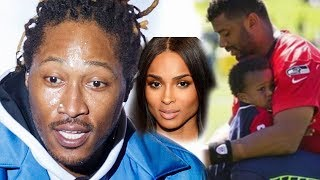 Ciara ex, Future is blasting her husband Russell Wilson about his son