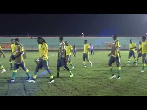 South Africa - Training session (26/01) - Orange Africa Cup of Nations, EQUATORIAL GUINEA 2015