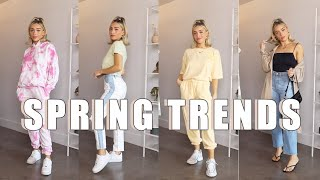 2020 Spring Fashion Trends and How To Style | Pastels, Tie-Dye, Cardigans, more!