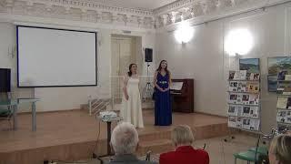 "J. Offenbach - ""Belle nuit, ô nuit d'amour"" - Alina Pobegajlo,  Anastasija Erofeeva"