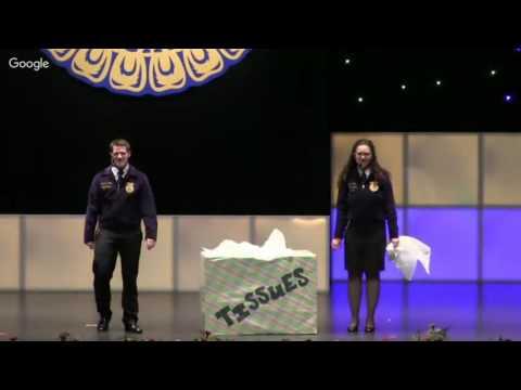 2016 Pennsylvania FFA State Convention Session 3