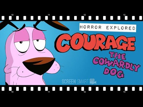 The Art of COURAGE THE COWARDLY DOG: Fearing Imperfection