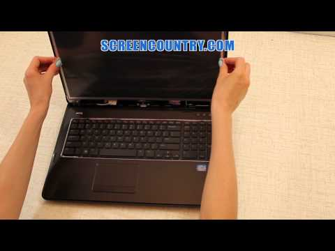 LCD Screen Replacement Guide [Dell Inspiron 17R]. How To Fix a Laptop Screen