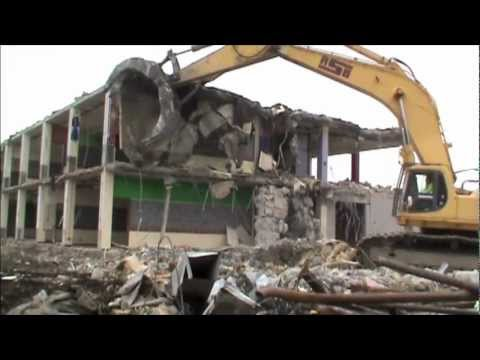 RSG Contracting Corporation, Natick High School, A-Wing Demolition