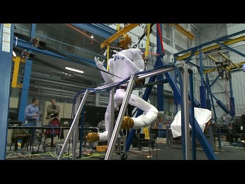 Space Station Live: Robonaut Mobility Upgrades