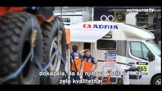Navigator karavaning - Na obisku: ADRIA Mobil on Rally DAKAR 2014/interview