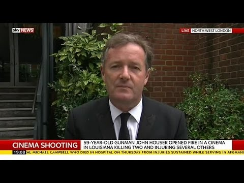 Piers Morgan On Gun Control In America thumbnail