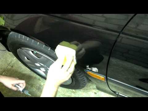 Как нанести жидкое стекло на авто своими руками 9
