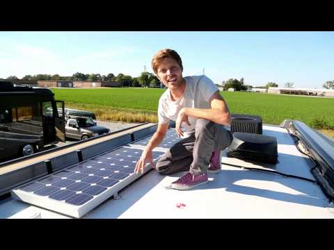RV Solar Power Setup
