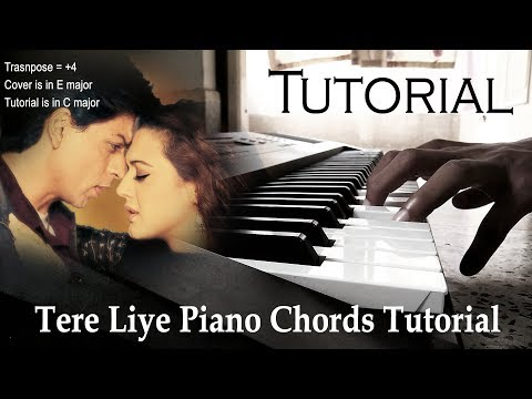 Tere Liye Piano Piano Chords Tutorial and Cover - Pranoy Dutta