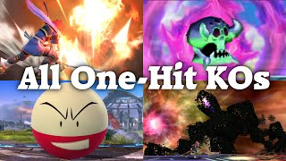 Super Smash Bros. 4 - All One-Hit KO Moves