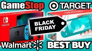 All BEST Nintendo Switch Black Friday 2019 Deals!