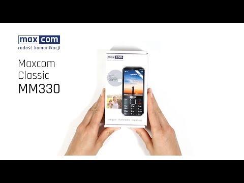 Rozpakowanie Pudełka Maxcom Classic MM330 3G PL