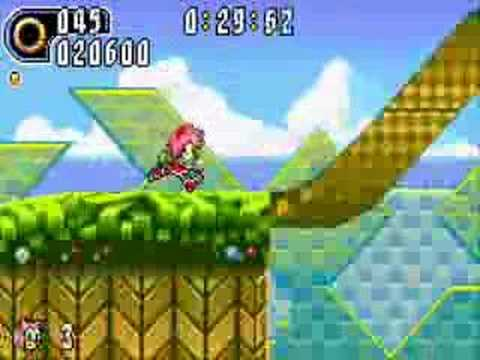 Sonic Advance 2: Leaf Forest Zone (Amy Rose)